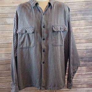 PATAGONIA Plaid Button Down Shirt size XXL